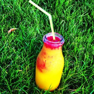Mango-Stachelbeeren-Smoothie