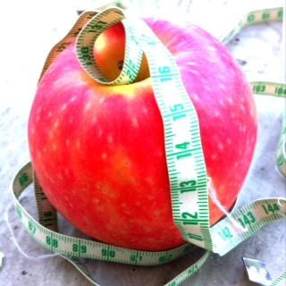 Apfel abnehmen