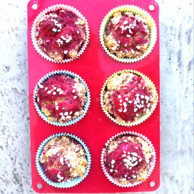 Himbeer Haferflocken Muffins Inspiration4fitness