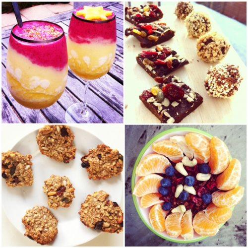 Gesunde Snacks zum selbermachen