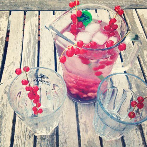 Beeren Wasser