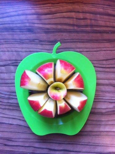 Apfelteiler für Apfelspalten