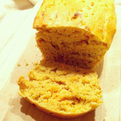 Dinkel Karotten Zwiebel Brot