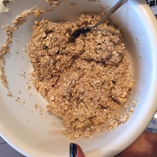 Erdbeer Haferflocken Muffins mit Schoko Füllung