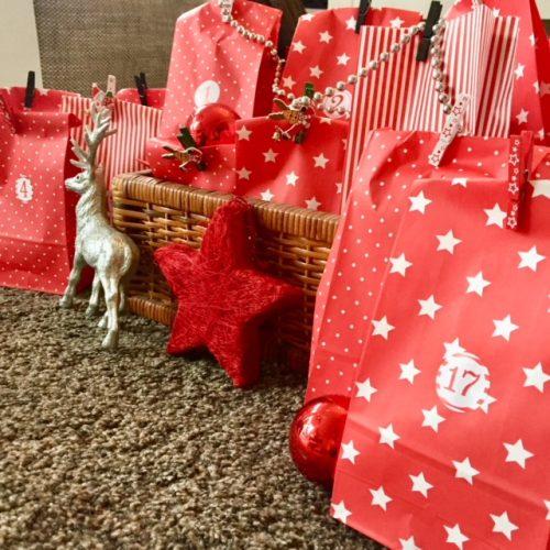DIY Fitness Adventskalender Geschenke