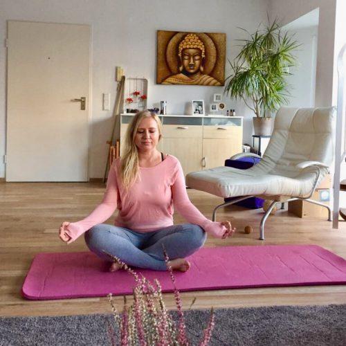 Yoga für Anfänger Meditation